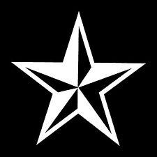 Star Tattoo Vinyl Sticker Decal