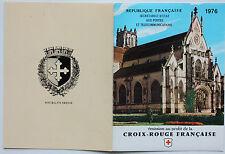 CARNET DE 8 TIMBRES - EMISSION AU PROFIT DE LA CROIX-ROUGE FRANCAISE - 1976