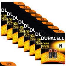 16 x Duracell Alkaline N batteries LR1 1.5V MN9100 E90 AM5