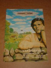 Edinburgh Rock Festival 1979 Concert Programme (Van Morrison/Talking Heads)