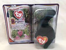 McDonalds Ty Teenie Beanie Babies Bronty The Brontosaurus 2000 New In Package