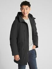 Gap $188.00 Down Parka Jacket, Sz XS True Black