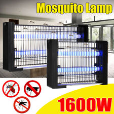 1600W Electric Bug Zapper LED Light Fly & Mosquito Killer Insect Trap Bulb Lamp