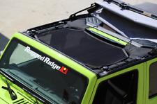Omix-ADA Rugged Ridge Front Black Eclipse Sun Shade for 07-18 Jeep Wrangler JK