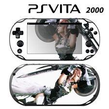 Vinyl Decal Skin Sticker for Sony PS Vita Slim 2000 FF Lightning 2
