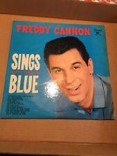 FREDDY CANNON ~ SINGS HAPPY SHADES BLUE ~ SWAN  504 ~ 1960 ~ 33 1/3  LP. RECORD