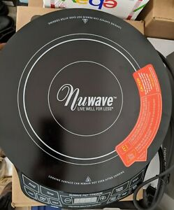 Nuwave PIC Titanium Precision Induction Cooktop 30341 CQ 1800 Watt