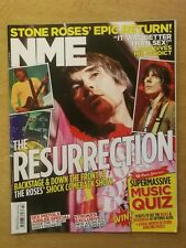 NME JUNE 2 2012 STONE ROSES LIAM GALLAGHER SEX PISTOLS RADIOHEAD STROKES