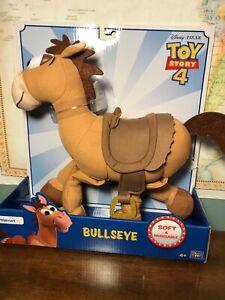 Toy Story 4 Woodys Horse Bullseye Soft Huggable Walmart Exclusive Brand New