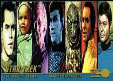 STAR TREK ORIGINAL SERIES 1 PROMOTIONAL CARD