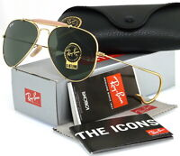 RAY-BAN OUTDOORSMAN RB3030 L0216 58MM GOLD / GREEN CLASSIC G-15