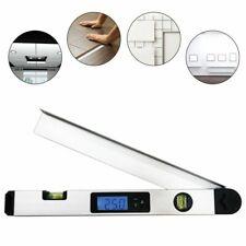 Digital Angle Finder Gauge Protractor LCD Spirit Level Back-Light Ruler Miltre