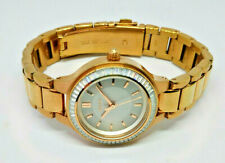 Ladies DKNY Rose Gold Plated Silver Dial Watch NY-2393