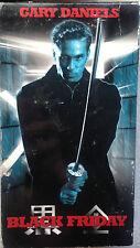 Black Friday (VHS) 2000 thriller stars Gary Daniels