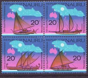 Nauru 1975 SC 127a MH Set Boat