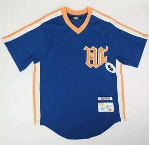 Wu Wear Blue Varsity Baseball Jersey Mets Vintage 1995 Size 3XL NWT