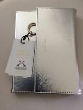 Ted Baker Silver Notebook Wallet Folder BNWT
