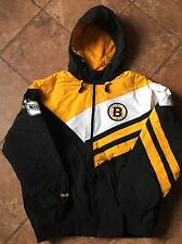"Mitchell Ness ""Vintage Hockey"" 2XL XXL Boston Bruins NHL Weakside Jacket"