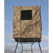2-Man Enclosed Camo Blind for use on a Tower Stand / Ground for Deer Hog Hunting