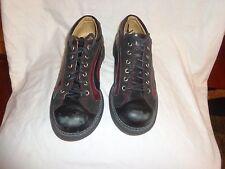 John Fluevog Black Leather Oxford Mens shoes Size 6