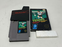 Tennis Nintendo Entertainment System Black Box And Game Only Authentic