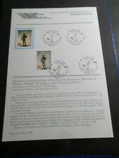 ITALIE ITALIA ITALY 1998, NOTICE FDC timbre 2330, JOURNEE ART, BRONZE DIONYSOS
