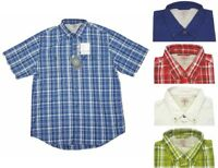 G.H. Bass Mens Sportsman 40 UPF Short Sleeve Button Shirt Choose Size&Color -E