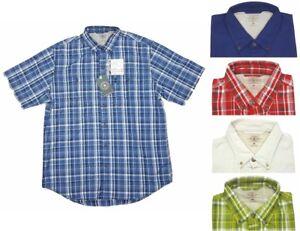 G.H. Bass Mens Sportsman 40 UPF Short Sleeve Button Shirt Choose Size&Color -E