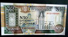 ★★ SOMALIE ● CHIFFRES DU DIABLE● BILLET DE 50 NVX SHILLINGS 1991 ● NEUF / UNC ★★