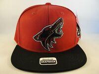 Arizona Coyotes NHL Reebok Snapback Hat Cap Burgundy Black