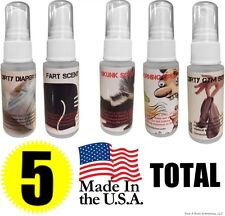 Fart Spray - Skunk - Bad Breath - Stink Socks - Diaper Ass - Liquid Bomb PRANKS