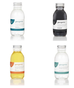 NEW Georganics Eco-Friendly Oil Pulling Mouthwash - 100ml - Various Flavours