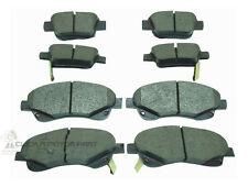 FRONT & REAR BRAKE DISC PADS NEW SET FOR TOYOTA AVENSIS 1.8 VVTi 2.0 D4D 03-09