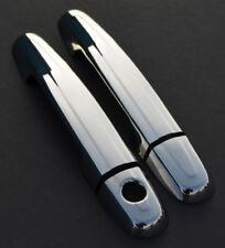 Chrome Door Handle Trim Set Covers To Fit Citroen C1 2dr (2014+)