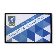 Sheffield Wednesday F.C- Personalizado Felpudo (Estampado)