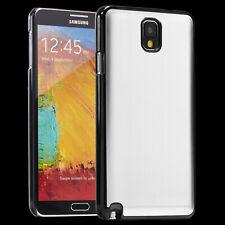 Samsung Galaxy Note 3 Hülle Case Schutz Hülle Etui Back Cover Silber/Aluminium