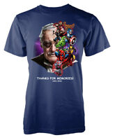 Stan Lee Memorial Superhero Marvellous adult t shirt