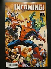 INCOMING #1 1:50 Jim Cheung Variant Comic Book Marvel NM 2019 First Print