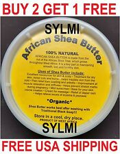 100%Pure RAW AFRICAN SHEA BUTTER From Ghana NATURAL ORGANIC UNREFINED 8oz YELLOW