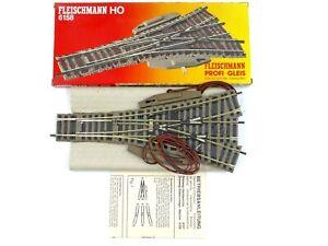 Fleischmann Profi Gleis Profi Track H0 Gauge 6158 3 Way Point Electric New