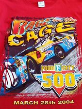 Bristol Motor Speedway Mens T Shirt XL 2004 500 NASCAR Racing Vintage USA