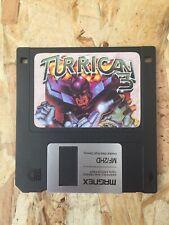 Turrican 3 Commodore Amiga III Manfred Floppy Disk
