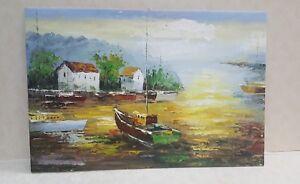 Dipinto...olio su tela ,quadro.idea regalo di Natale  complemento arredo