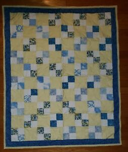"Homemade Baby - Crib - Lap - Quilt Blanket  Finished 35"" x 40"""