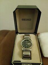 Seiko Quartz Uomo orologio vintage con 7546-9000 BOX/CASE