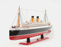 "RMS Empress of Ireland Ocean Liner 32"" Wooden Model Canada Cruise Ship New"