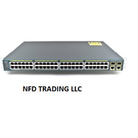 Used Cisco WS-C2960-48PST-L Catalyst 2960 Series 48 PoE Port Switch - 2 x T/SFP