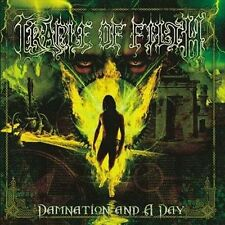 Damnation and a Day [PA] by Cradle of Filth (CD, Dec-2004, Epic)