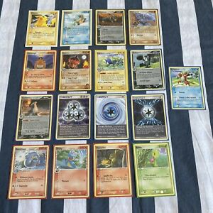 Lot 17 Cartes Pokemon Bloc Ex Rare Occasion Français Pikachu Pop Fr