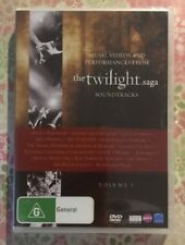 TWILIGHT SAGA SOUNDTRACKS Music Videos And Performances (DVD R4) NEW SEALED V1